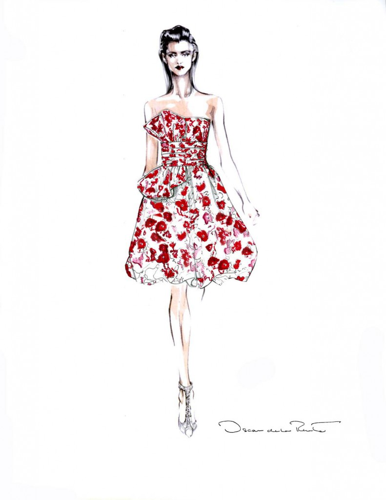 oscar-de-la-renta-dress-ideeli
