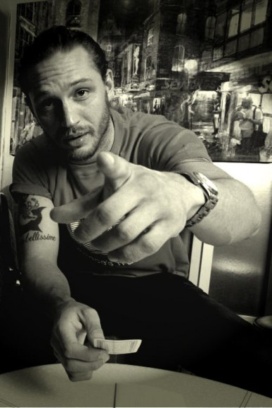 HIGHER FEES APPLY.  British actor Tom Hardy.